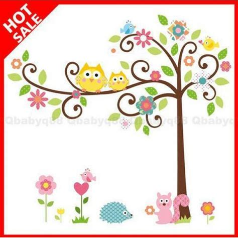 Baby Animals Sk9104 Stiker Dinding Wall Sticker nursery decals baby nursery decor sky wall decals for