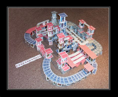 how to make a card castle card castle of insanity by crimson tsunami on deviantart