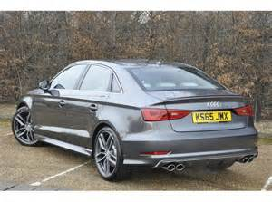 Audi S3 Saloon Used Audi S3 Saloon 2 0 300ps Quattro S Tronic For Sale
