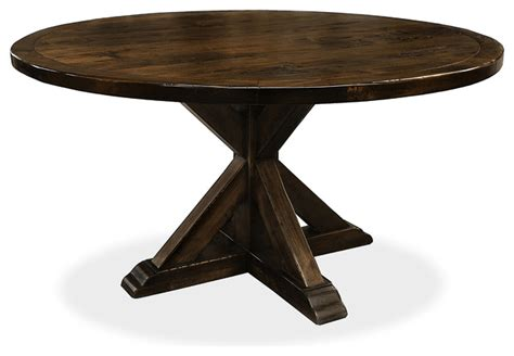 seth recycled wooden dining table rustic outdoor