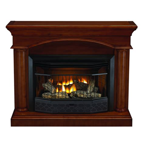 shop style selections 23000 btu vent free gas fireplace