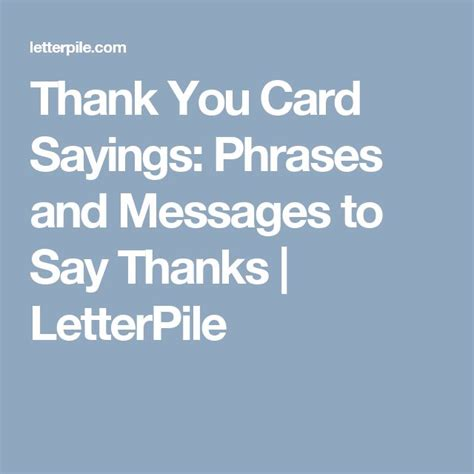 Thank You For The Gift Card Quotes - 25 best ideas about thank you sayings on pinterest thank you for thank you