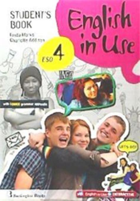 libro new english in use english in use 4 eso student s book burlington books