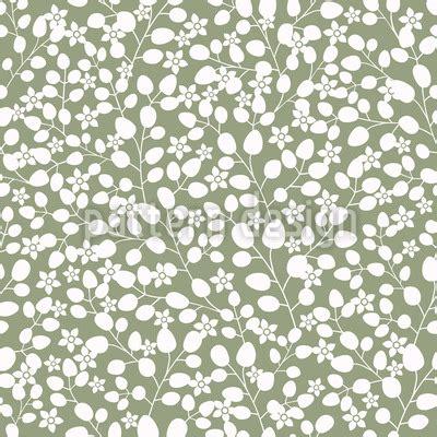 design pattern used in spring snow white garden in spring vector pattern