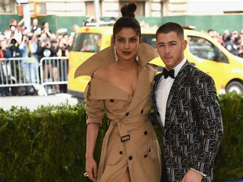 Nick Jonas Priyanka Chopra Met Gala 2017 See Priyanka Chopra Through Singer Nick