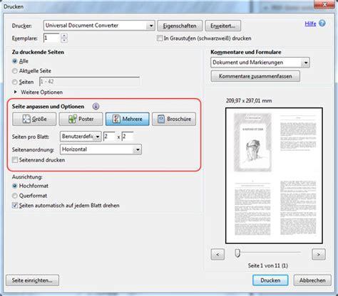 Bild Auf Lebenslauf Drucken Pdf Als Jpg Speichern Universal Document Converter
