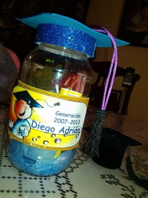 recuerdos para graduacion de preescolar bote con dulces para graduacion graduaci 243 n preescolar