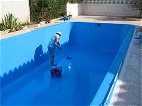 painting a fiberglass pool