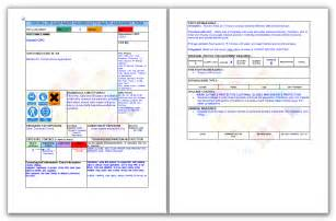 Coshh Assessment Template by Coshh Risk Assessment Template Quotes