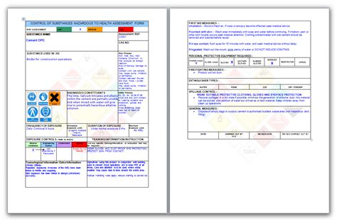health and safety method statement template leadership