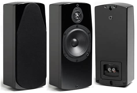 Kaos Absolute Zero Hight Quality nht absolute wall speaker black single