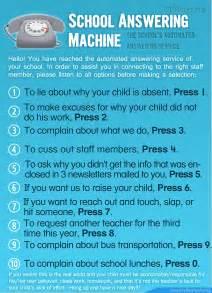 answering machine poster