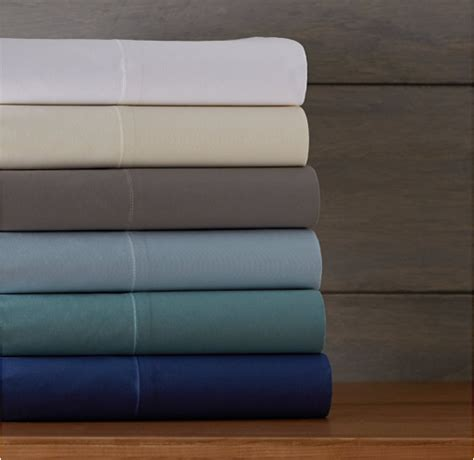 best crisp cotton sheets pinzon 300 thread count percale sheet sets on sale