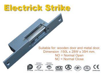 Alat Pengunci Telpon jual pengunci pintu elektronik electric strike harga murah makassar oleh cv sistekcom