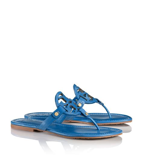 Burch Barcelet Sky Blue Ghw burch miller sandal in blue evening sky lyst
