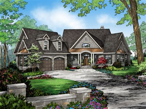 craftsman house plans lake homes view plans lake house lake house plans with angled garage lake house plans with