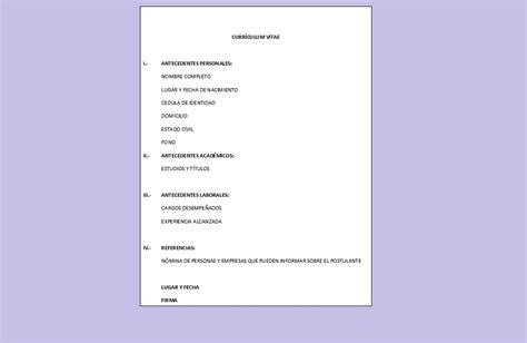 Modelo De Curriculum Vitae Tradicional Chileno Redacci 211 N Comercial Y Aplicaciones De Inform 193 Tica 2 D El Curriculum Vitae