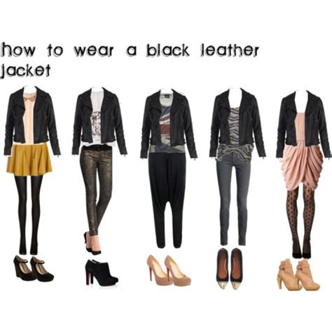 dope how to wear a black leather jacket socialbliss