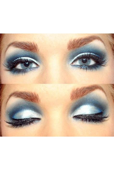 Eyeshadow Blue eye makeup trend alert blue eyeshadow