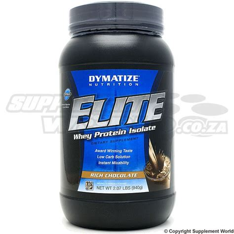 Elite Whey Isolate Dymatize Nutrition Elite Whey Protein Isolate