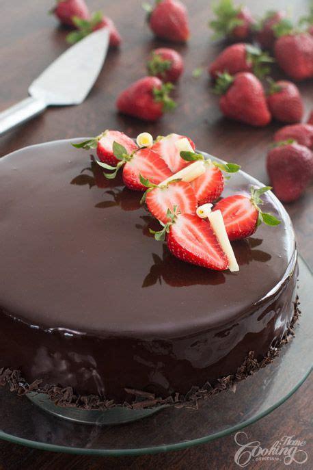 strawberry chocolate mirror cake recipe     eat cake chocolate strawberry