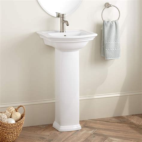 farnham porcelain mini pedestal sink stanford porcelain mini pedestal sink pedestal sinks