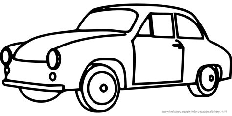 black and white coloring pages of cars ausmalbilder autos