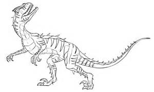 velociraptor coloring page utahraptor coloring pages