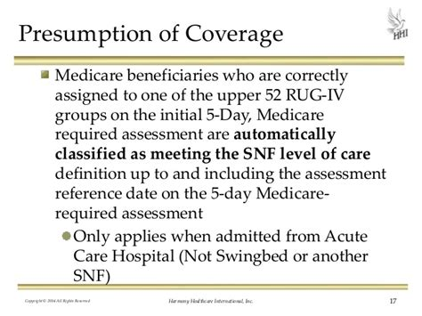 Rug Medicare Definition by How To Review Medicare Appeals In The Snf