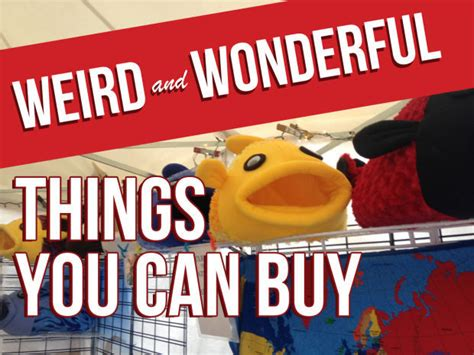 5 Strange Things That You Can Buy And Wear by And Wonderful Things You Can Buy At The Decatur