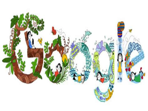 doodle 4 s day children s day doodle is by pune oneindia