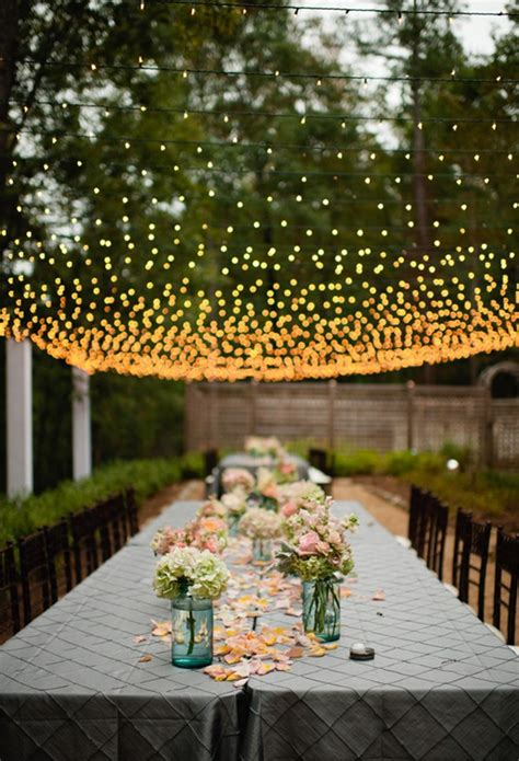wedding reception lighting ideas breathtaking wedding reception d 233 cor ideas with string