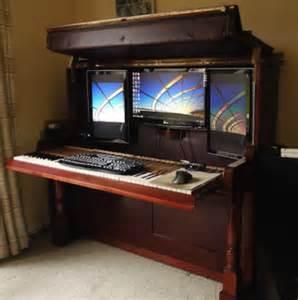 Unique Computer Desk Piano Diy 9 Ways To Repurpose Ebony And Ivory Bob Vila