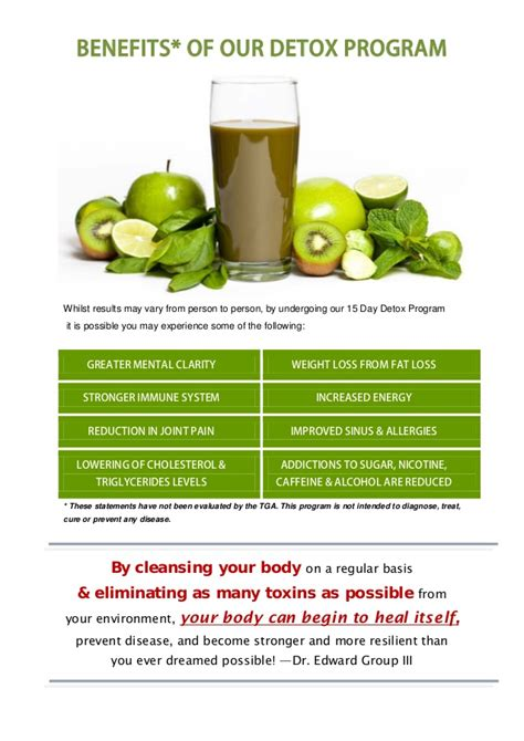 Weight Loss Detox Programs Free by Detox Programs For Weight Loss