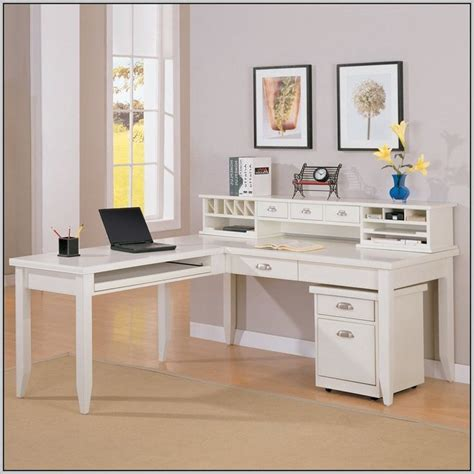 l shaped office desks with hutch best 25 l shaped desk ideas on l shaped