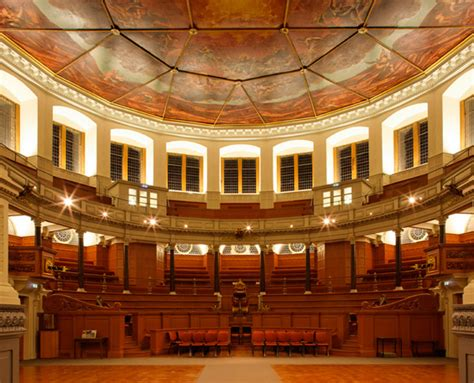 Padded Benches Sheldonian Theatre Oxford Proms