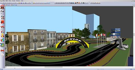 tamiya track layout editor ultimate racer features