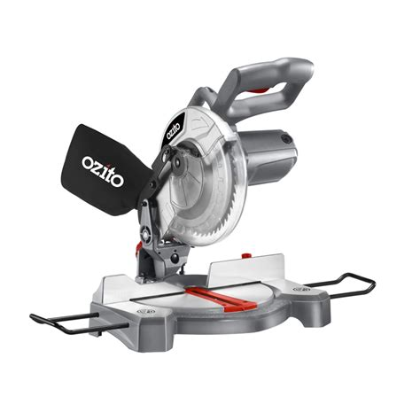 ozito bench saw ozito 1500w 210mm compound mitre saw bunnings warehouse