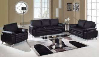 Leather Livingroom Sets by Soft Padded Bonded Leather Contemporary Living Room Set