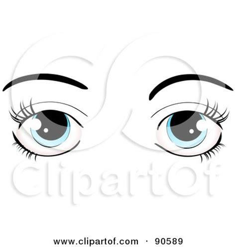 small printable eyes royalty free rf clipart of eye lashes illustrations