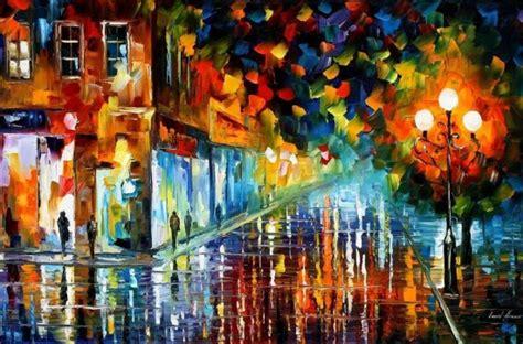 painting work paintings by leonid afremov fubiz media