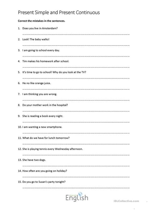 grammar check worksheets worksheets for all and