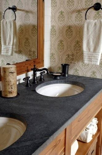 Soapstone Vanity Top - bench top for the powder room or bath