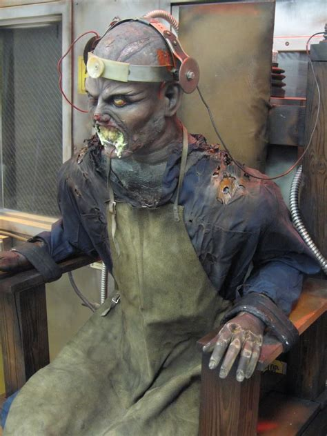 electric chair every year we create a prop for this year the