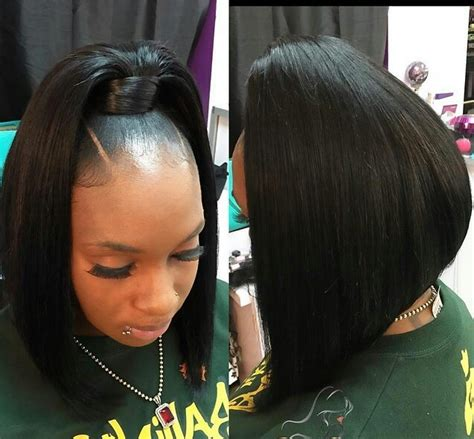 sew in ponytails for black women quickweave black hairstyles pinterest ponytail
