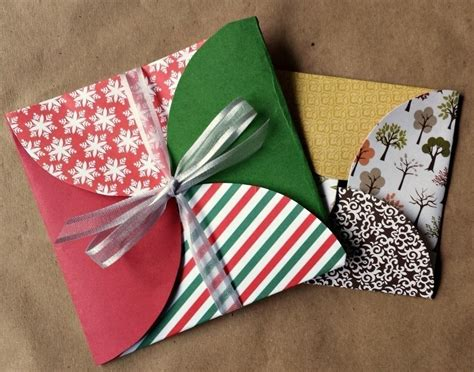 How To Make Gifts With Paper - scrapbook paper gift envelopes 183 how to make an envelope