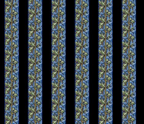 Morris Custom Upholstery by Horace Morris Black Fabric Amyvail Spoonflower