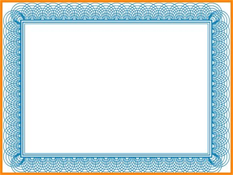 blue certificate border blue certificate border template reeviewer co