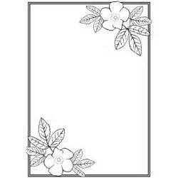 Side Designs by Page Border Designs For A4 Size Paper Clipart Best