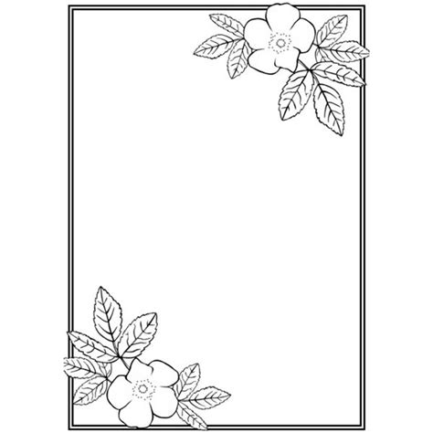 simple tattoo borders simple border designs for school projects cliparts co